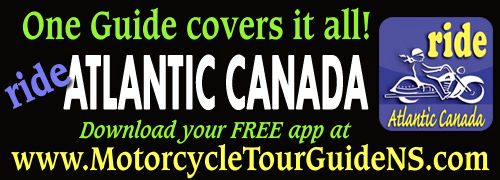 Motorcycle Tour Guide Nova Scotia